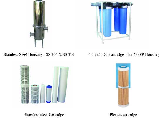 Cartridge Water Filters